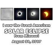 For Missourians, the experience of the Great American Eclipse hinted at with photos taken from Richmond, Missouri, near the line of greatest totality.