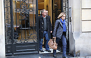 French pilot Pascal Jean Fauret and his wife Stephanie seen in Paris, he is convicted of cocaine trafficking flee Dominican Republic<br /> ©Exclusivepix Media