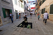 56th Art Biennale in Venice - All The World's Futures.<br /> One of many street performances.