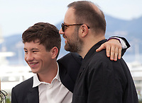 Actor Barry Keoghan and director Yorgos Lanthimos at the The Killing of a Sacred Deer  film photo call at the 70th Cannes Film Festival Monday 22nd May 2017, Cannes, France. Photo credit: Doreen Kennedy