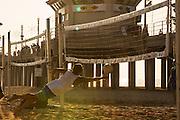 Beach Volleyball at the Huntington Beach Pier