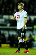 Chris Martin of Derby County during the Sky Bet Championship match at the iPro Stadium, Derby<br /> Picture by Andy Kearns/Focus Images Ltd 0781 864 4264<br /> 24/02/2016