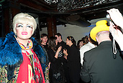 DANIEL LISMORE, party to celebrate Alexander Wang at Liberty and The Androgyny Issue of LOVE, hosted by Katie Grand, Alexander Wang, and Ed Burstell of Liberty, Liberty. Great Marlborough St. London. 21 February 2011. -DO NOT ARCHIVE-© Copyright Photograph by Dafydd Jones. 248 Clapham Rd. London SW9 0PZ. Tel 0207 820 0771. www.dafjones.com.