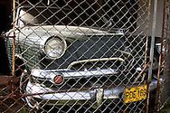 Car in Bahia Honda, Artemisa, Cuba.