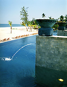 The ocean-front Quiet Pool with private cabanas.