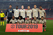 PERTH, AUSTRALIA - JULY 13:  Manchester United team photo during the International soccer match between Manchester United and Perth Glory on July 13, 2019 at Optus Stadium in Perth, Australia. (Photo by Speed Media/Icon Sportswire)