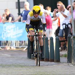 22-06-2016: Wielrennen: NK tijdrijden Mannen: Goeree Overflakee <br />MIDDELHARNIS (NED) wielrennen <br />Jos van Emden