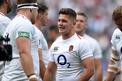 Callum Sheedy of the England XV looks on after the match - Mandatory byline: Patrick Khachfe/JMP - 07966 386802 - 02/06/2019 - RUGBY UNION - Twickenham Stadium - London, England - England XV v Barbarians - Quilter Cup International