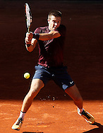 Born Coric during the Madrid Open at Manzanares Park Tennis Centre, Madrid<br /> Picture by EXPA Pictures/Focus Images Ltd 07814482222<br /> 04/05/2016<br /> ***UK &amp; IRELAND ONLY***<br /> EXPA-ESP-160504-0022.jpg