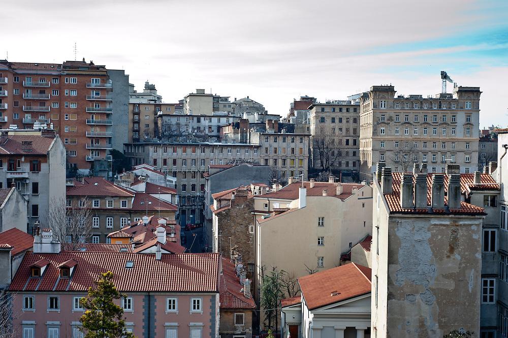 The Old City, Città Vecchia, in Trieste, Italy
