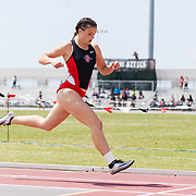 06 April 2018: The San Diego State women's track and field team hosts the first annual Mountain West Challenge featuring SDSU, Nevada, UNLV and San Jose State. <br /> More game action at sdsuaztecphotos.com