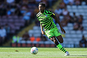 Forest Green Rovers Ebou Adams(14) runs forward during the EFL Sky Bet League 2 match between Bradford City and Forest Green Rovers at the Utilita Energy Stadium, Bradford, England on 24 August 2019.