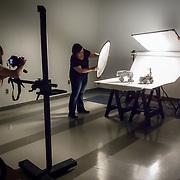 In The Studio - Day One - Monochrome