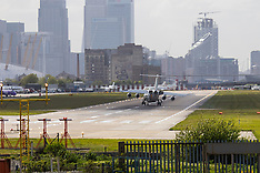2015-05-05 London City Airport crosswind landings