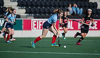 AMSTELVEEN -  Fabienne Roosen (Lar)   tijdens   de oefenwedstrijd tussen Amsterdam en Laren dames   COPYRIGHT KOEN SUYK
