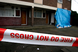 UK ENGLAND LONDON 20FEB07 - View of the crime scne on the Fenwick Estate, a social housing project in Clapham, south London where 15-year old Billy Cox was shot in his own home on Valentine's Day 2007...jre/Photo by Jiri Rezac..© Jiri Rezac 2007..Contact: +44 (0) 7050 110 417.Mobile:  +44 (0) 7801 337 683.Office:  +44 (0) 20 8968 9635..Email:   jiri@jirirezac.com.Web:    www.jirirezac.com..© All images Jiri Rezac 2007 - All rights reserved.