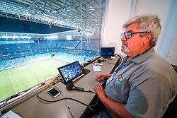 Bastidores cobertura da empresa PW durante partida da Libertadores da América entre os times Internacional e River Plate, no estádio Beira Rio. Foto: César Lopes / Agência Preview