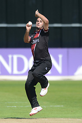 Lewis Gregory of Somerset - Mandatory byline: Dougie Allward/JMP - 07966386802 - 02/08/2015 - Cricket - County Ground -Bristol,England - Gloucestershire CCC v Somerset CCC - Royal London One-Day Cup
