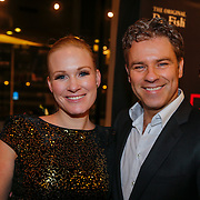 "NLD/Tilburg/20130114 - Premiere Ruth Jaccot "" A Lady on Stage"", Wieneke Remmers en partner Rein Kolpa"
