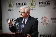 U. S. Representative Hal Rogers (R-KY) speaks at an event celebrating gigabit internet in McKee, Kentucky.