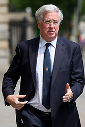 © Licensed to London News Pictures. 08/06/2016. London, UK.  Defence secretary MICHAEL FALLON in Westminster, London on June 8th, 2016. Photo credit: Ben Cawthra/LNP