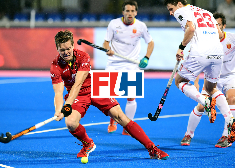 Odisha Men's Hockey World League Final Bhubaneswar 2017<br /> Match id:18<br /> Belgium v Spain<br /> Foto: Tom Boon (Bel) <br /> COPYRIGHT WORLDSPORTPICS FRANK UIJLENBROEK