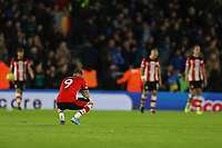 Football - 2019 / 2020 Premier League - Southampton vs. Everton<br /> <br /> Southampton's Danny Ings drops to his haunches after Saints concede at St Mary's Stadium Southampton<br /> <br /> COLORSPORT/SHAUN BOGGUST