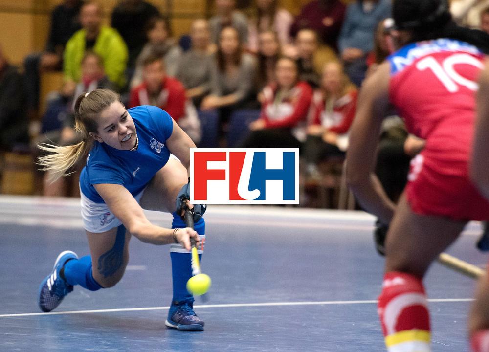BERLIN - Indoor Hockey World Cup<br /> Czech Republic - Namibia<br /> foto: KYNDLOVA Klara <br /> WORLDSPORTPICS COPYRIGHT FRANK UIJLENBROEK
