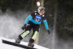 Hilde Katrine Engeli (NOR) competes during Qualification Run of Women's Parallel Giant Slalom at FIS Snowboard World Cup Rogla 2016, on January 23, 2016 in Course Jasa, Rogla, Slovenia. Photo by Ziga Zupan / Sportida