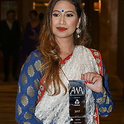 London, UK. 10th May 2017. Netwest AWA Chairman's awards to Fatima Zaman at The Asian Women of Achievement Awards 2017 at the London Hilton on Park Lane Hotel. Photo by See li