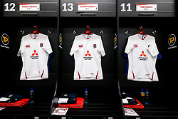 General View in the England U20 dressing room - Rogan/JMP - 21/02/2020 - Franklin's Gardens - Northampton, England - England U20 v Ireland U20 - Under 20 Six Nations.
