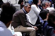 DESCRIZIONE : Bologna Lega A 2014-15 Granarolo Bologna Acea Roma<br /> GIOCATORE : Claudio Toti<br /> CATEGORIA : vip<br /> SQUADRA : Acea Roma<br /> EVENTO : Campionato Lega A 2014-15<br /> GARA : Granarolo Bologna Acea Roma<br /> DATA : 03/05/2015<br /> SPORT : Pallacanestro <br /> AUTORE : Agenzia Ciamillo-Castoria/M.Marchi<br /> Galleria : Lega Basket A 2014-2015 <br /> Fotonotizia : Bologna Lega A 2014-15 Granarolo Bologna Acea Roma