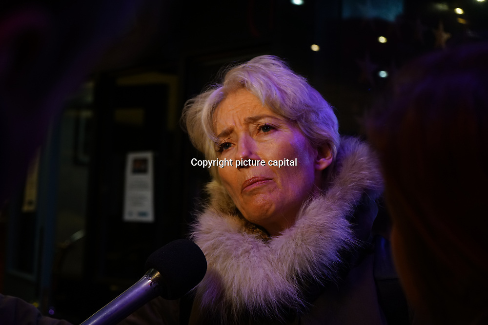 Emma Thompson Arrive at Good Girl for the VAULT Festival press night at Trafalgar Studios on 6th March 2018, London, UK.