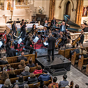 Johann Sebastian Bach &quot;Wedding Cantata, Sorpano Ariadne Greif.<br /> <br /> The Church of St. Veronica  Inaugural Free Concert presented by WestView News on November 25,2017.<br /> Music program:<br /> 1) George Frideric Handel, Concerto Grosso in D, Opus 6,#5 ( 1730) .<br /> 2) Johann Sebastian Bach &quot;Wedding Cantata ( before 1730)<br /> 3) Wolfgang Amadeous Mozart  Serenade in D &quot;Serenata Nortturna&quot; (1773)<br /> 4) Franz Joseph Haydn Symphony #47 in G major, &quot;The Palindrome&quot; (1772)<br /> <br /> The Church of is a Roman Catholic parish church in the Roman Catholic Archdiocese of New York, located at 153 Christopher Street between Greenwich and Washington Streets in the West Village area of the Greenwich Village neighborhood of Manhattan, New York City. <br /> <br /> The parish was established in 1887, and the church was built between 1890 and 1903. It is located within the New York City Landmarks Preservation Commission's Greenwich Village Historic District Extension I, which was designated in 2006.