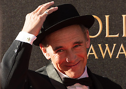 © Licensed to London News Pictures. 09/04/2017. SIR MARK RYLANCE attends The Olivier Awards held at the Royal Albert Hall. London, UK. Photo credit: Ray Tang/LNP