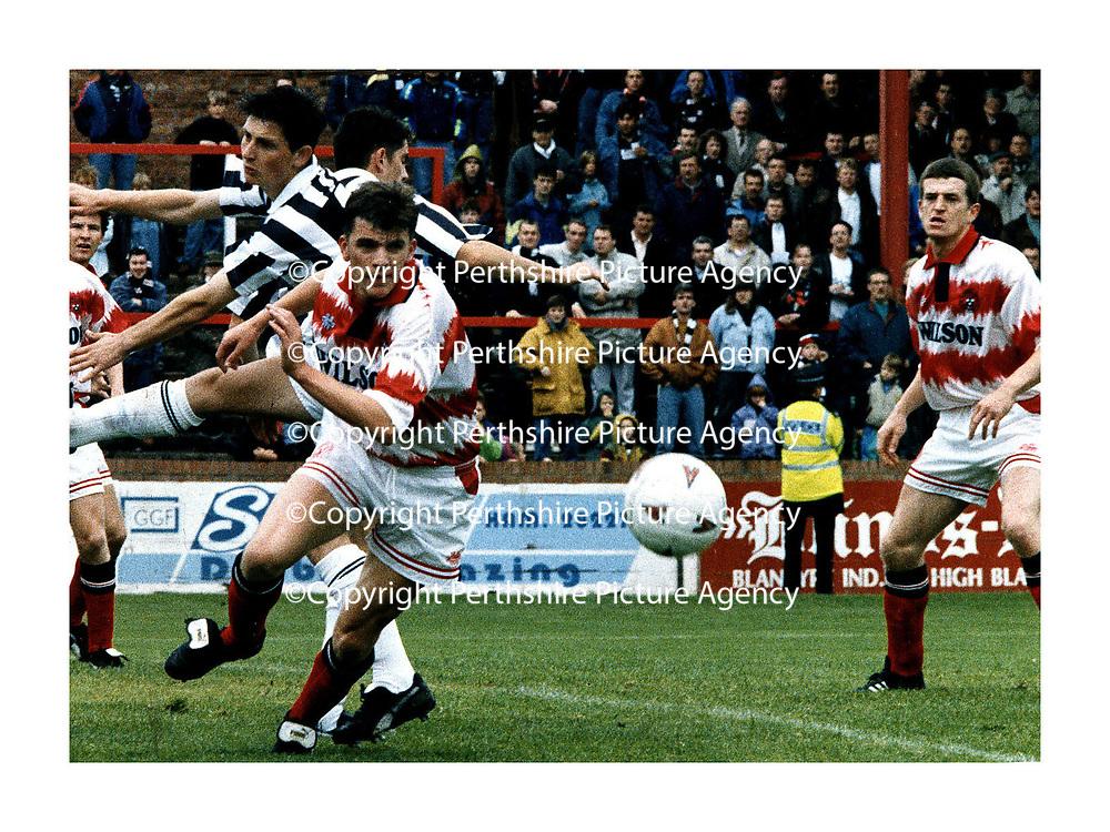 Jim Weir football last game for Hamilton St Mirren