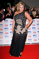 Gemma Collins  at the National Television Awards held in London on Wednesday, 25th January 2012. Photo by: i-Images