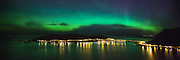 Northern light over Remøy | Nordlys over Remøy.