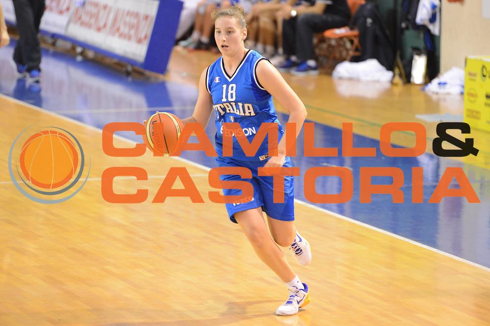 DESCRIZIONE : Parma Palaciti Nazionale Italia femminile Basket Parma<br /> GIOCATORE : Laura Spreafico<br /> CATEGORIA : palleggio<br /> SQUADRA : Italia femminile<br /> EVENTO : amichevole<br /> GARA : Italia femminile Basket Parma<br /> DATA : 13/11/2012<br /> SPORT : Pallacanestro <br /> AUTORE : Agenzia Ciamillo-Castoria/ GiulioCiamillo<br /> Galleria : Lega Basket A 2012-2013 <br /> Fotonotizia :  Parma Palaciti Nazionale Italia femminile Basket Parma<br /> Predefinita :