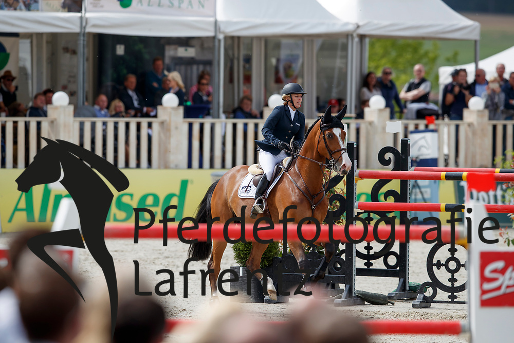 MICHAELS-BEERBAUM Meredith (GER), Calle<br /> Hagen - Horses and Dreams meets the Royal Kingdom of Jordan 2018<br /> Grosser Preis der DKB Qualifikation DKB-Riders Tour<br /> 30 April 2018<br /> www.sportfotos-lafrentz.de/Stefan Lafrentz