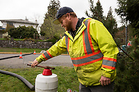 Workers with the Capital Regional District regularly flush and test the water in the drinking water system throughout Southern Vancouver Island.