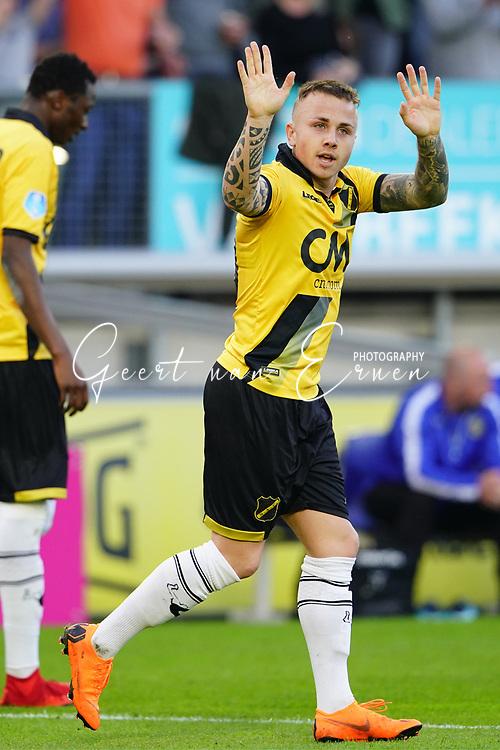*Jose Angel Esmoris Tasende Angelino* of NAC Breda celebrates 1-0