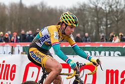 Nikki Harris (GBR), Women, Cyclo-cross World Cup Hoogerheide, The Netherlands, 25 January 2015, Photo by Pim Nijland / PelotonPhotos.com