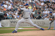CHICAGO - AUGUST 16:  Mark Buehrle of the Toronto Blue Jays pitches against the Chicago White Sox on August 16, 2014 at U.S. Cellular Field in Chicago, Illinois.   (Photo by Ron Vesely)