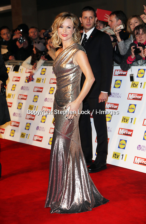 Amanda Holden arriving for the Pride of Britain Awards in London, Monday, 29th October  2012 Photo by: Stephen Lock / i-Images