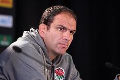 Dunedin-Rugby, RWC, England press conference