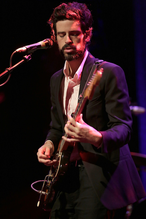 Devendra Banhart performing at the 47th Montreux Jazz Festival, Switzerland.