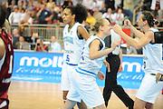 DESCRIZIONE : Riga Latvia Lettonia Eurobasket Women 2009 Semifinal 5th-8th Place Italia Lettonia Italy Latvia<br /> GIOCATORE : Laura Macchi Kathrin Ress<br /> SQUADRA : Italia Italy<br /> EVENTO : Eurobasket Women 2009 Campionati Europei Donne 2009 <br /> GARA : Italia Lettonia Italy Latvia<br /> DATA : 19/06/2009 <br /> CATEGORIA : esultanza<br /> SPORT : Pallacanestro <br /> AUTORE : Agenzia Ciamillo-Castoria/M.Marchi<br /> Galleria : Eurobasket Women 2009 <br /> Fotonotizia : Riga Latvia Lettonia Eurobasket Women 2009 Semifinal 5th-8th Place Italia Lettonia Italy Latvia<br /> Predefinita :