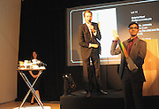 Oliver Barker runs the auction at the Swarovski Whitechapel Gallery Art Plus Opera, Whitechapel Gallery. An evening of art and opera raising funds for the Whitechapel Gallery. 77-82 Whitechapel High St. London E1 3BQ. 15 March 2012.