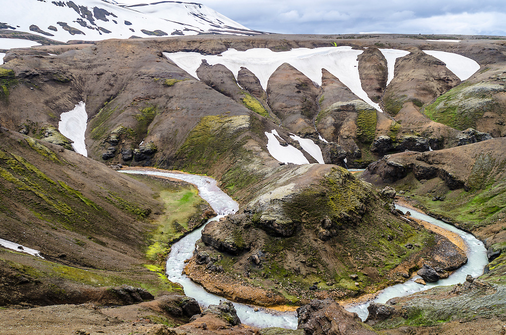 Kerlingarfjoll mountaineer area, Iceland